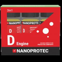 Защитный комплекс SET Nanoprotec D-ENGINE 3 in 1 3х90 мл (ST 1100 004)