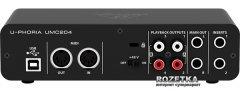 Аудиоинтерфейс Behringer UMC204HD