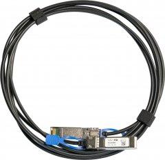 Кабель MikroTik XS+DA0003 SFP+ 3 м Черный (XS+DA0003)