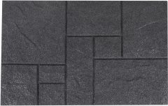 Коврик придверный Izzihome Mica 50x75 Графитовый (2200000553355)