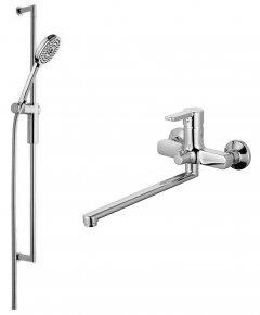 Смеситель для ванны AQUA RODOS Aqua 90779+GL-0260