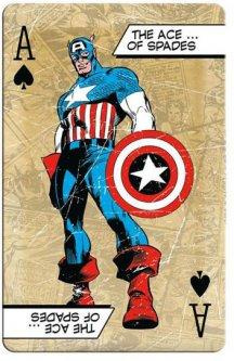 Набор игральных карт Winning Moves Waddingtons Marvel Comic Retro (5036905022453)