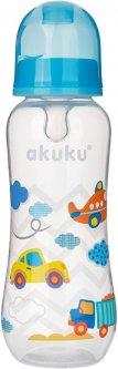 Бутылочка Akuku A0005 Blue 0+ 250 мл (Akuku A0005) (5907644000050)
