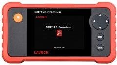 Автомобильный сканер Launch Creader Premium CRP-123