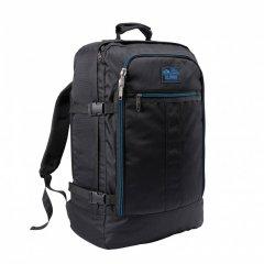 Рюкзак для ручной клади Cabin Max Metz Re Source Black - Blue Zip (55х40х20 см)