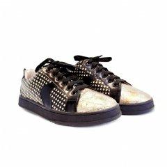 Жіночі кеди Dostoevsky shoes Gold 36 (23,5) золотистого кольору (108)
