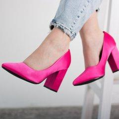 Туфли женские Fashion Kaaisa 2601 38 размер 24,5 см Розовый