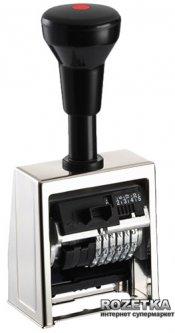 Нумератор автоматический Reiner 5.5 мм 6 символов Черный корпус (В6/6/5,5 anti)