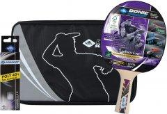 Набор для настольного тенниса Donic Legends 800 FSC 1 ракетка + чехол + 3 мяча (788488)