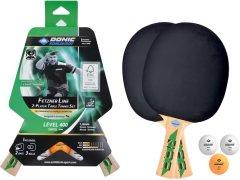 Набор для настольного тенниса Donic Fetzner 400 FSC 2-playet set 2 ракетки + 3 мяча (788468)