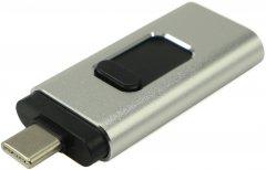 Beluck 16GB USB 3.0 3в1 USB Type-A + USB Type-C + Lightning Silver (BeluckFD16)