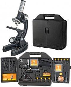Микроскоп National Geographic 300x-1200x с кейсом и набором для опытов (9118100)
