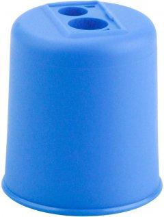 Точилка KUM Pod с контейнером 2 отверстия Голубая (Pod K2 p/blue)
