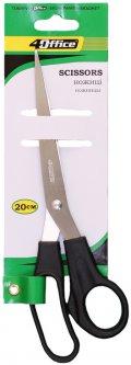 Упаковка ножниц офисных 4Office 20 см 12 шт (14820071010875)