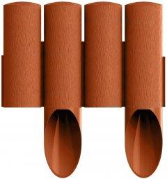 Газонное ограждение Cellfast Standard 2.3 м Терракот (34-043)