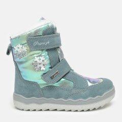 Ботинки кожаные Primigi 6381644 27 Голубые (6381644270290)