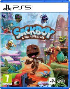 Игра Sackboy: A Big Adventure для PS5 (Blu-ray диск, Russian version)
