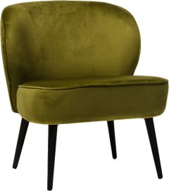 Кресло Vetro Mebel Фабио Темно-зеленое (Chair Fabio-green tea)