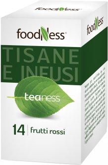 Чай в пакетиках FoodNess Frutti rossi Красные фрукты 20 шт (8031848003672)