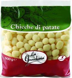 Ньокки картофельные Ciemme Alimentari La Gnoccheria Chicche классические 500 г (8033087771473)