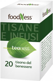 Оздоровительный травяной чай в пакетиках FoodNess Tisana Del Benessere 20 шт (8031848003733)