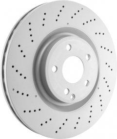 Тормозной диск передний Bosch Brake Disc Premium Dacia, Renault, Smart (0 986 479 164)