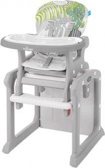 Стульчик для кормления Baby Design Candy New 07 Gray (201479) (5906724201479)
