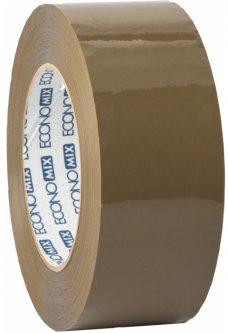 Клейкая упаковочная лента Economix 48 мм x 300 м Коричневая 24 шт (E40830)