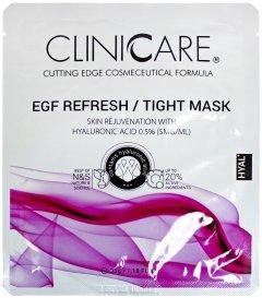 Маска ClinicCare EGF Refresh/Tight lifting/skin rejuv. mask 0.5% HA Регенерирующая 35 мл (635346370410)