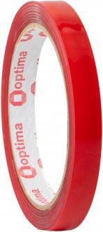 Клейкая двусторонняя лента Optima пеноакриловая (VHB) 12 мм x 2 м Красная (O45347)