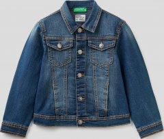 Джинсовая куртка United Colors of Benetton 2XA253HM0.K-901 EL 160 см (8300898667654)