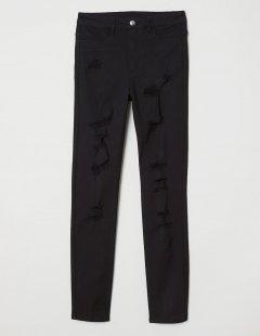 Джинси H&M Ж1056657 (06213811) колір чорний XXL