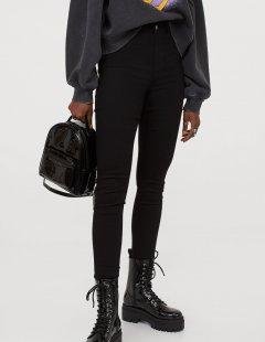 Джинси H&M Ж1056716 (07060162) колір чорний S