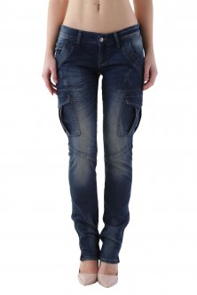 Джинси Richmond Denim Blue 26 синій (2027C161)