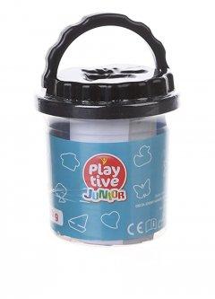 Пластилин (5*20 грамм) Play tive черный PM1-10406