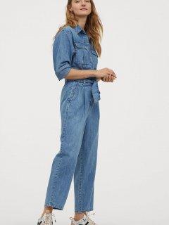 Комбінезон джинсовий H&M 060837285 38 Блакитний (6666000128089)