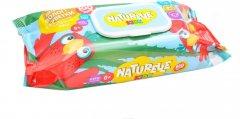 Упаковка влажных салфеток детских Naturelle Kidz Алоэ 3 пачки по 100 шт (2000525704719)