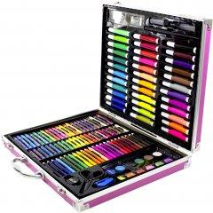 Набор для рисования с чемоданчиком UFT Art Set Metal 150 предметов (4820176272041)