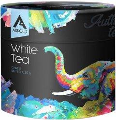 Чай белый листовой Askold Author`s White Tea 80 г (4820171910832)