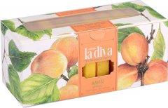 Натуральное мыло La Diva Абрикосовое 10х22.5 г (8699266390301)