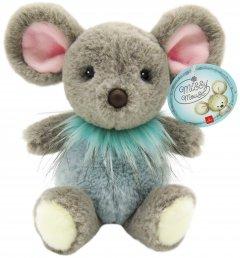 Мягкая игрушка Aurora Мышка девочка Серо-голубая 30 см (190058A) (092943005808)
