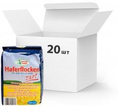 Упаковка овсяных хлопьев Bruggen Haferflocken zart 500 г х 20 шт (4008713758764)
