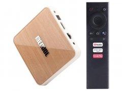 Приставка Android SmartTV Box Mecool KM6 Deluxe 4/64Гб