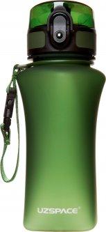 Бутылка для воды Uzspace Wasser Matte 350 мл Зеленая (6955482371329)