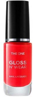 Устойчивый глянцевый лак для ногтей Oriflame The One Арбузный сок 8 мл (41883) (ROZ6400105624)