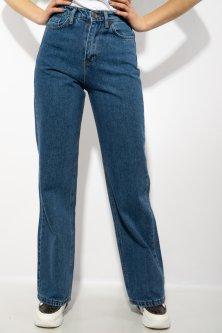 Жіночі широкі джинси Time of Style 623F2060 38 Світло-синій