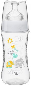 Бутылочка для кормления Bibi Премиум Оригами Natural 3+ 270 мл (115365) (7610472863381)