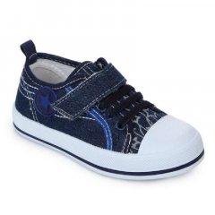 Кеди на шнурівці-гумка ARIAL 5517-1425-2 27 см синій (479479)
