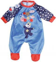 Одежда для куклы Baby Born День Рождения Праздничный комбинезон Синий (831090-2)