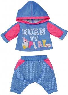 Набор одежды для куклы Baby Born Спортивный костюм для бега Голубой (830109-2)